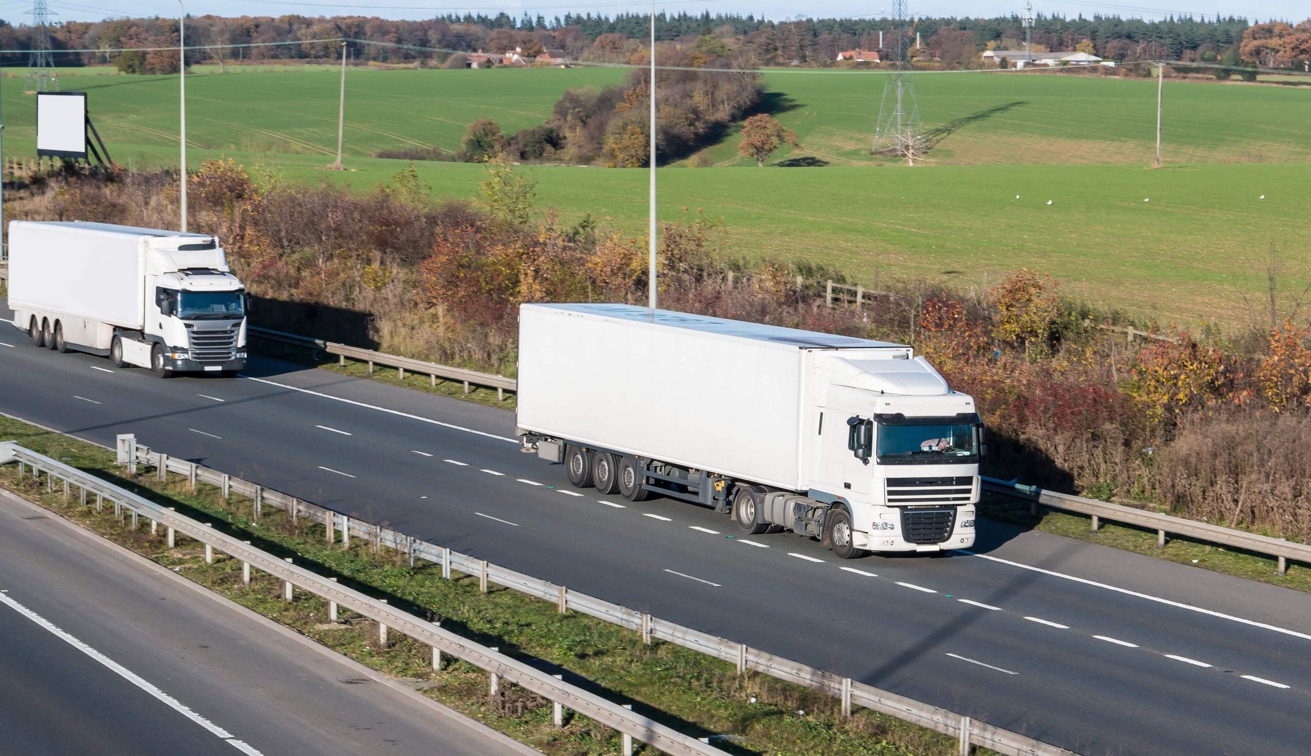 Transport and haulage lorries UK
